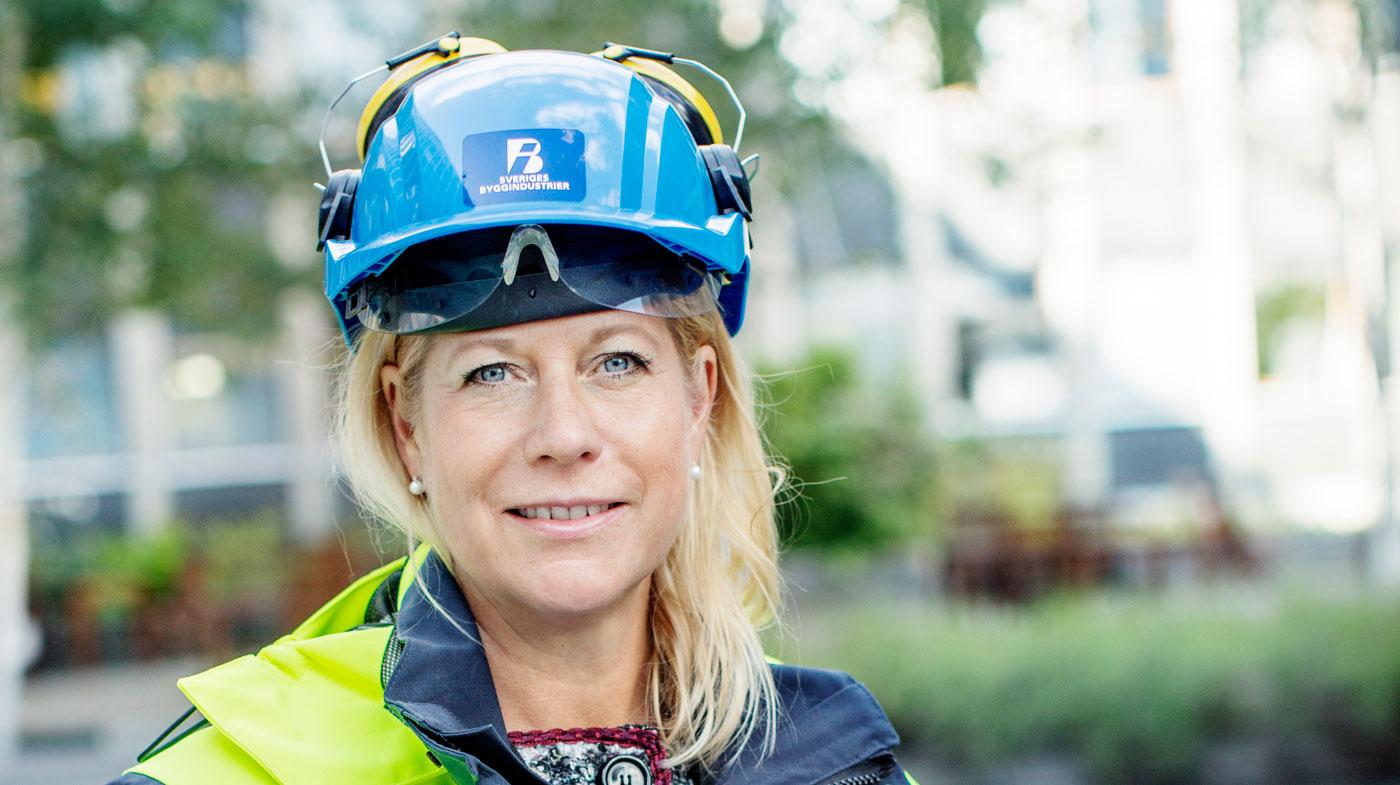 Catharina Elmsäter Svärd, VD på Sveriges Byggindustrier