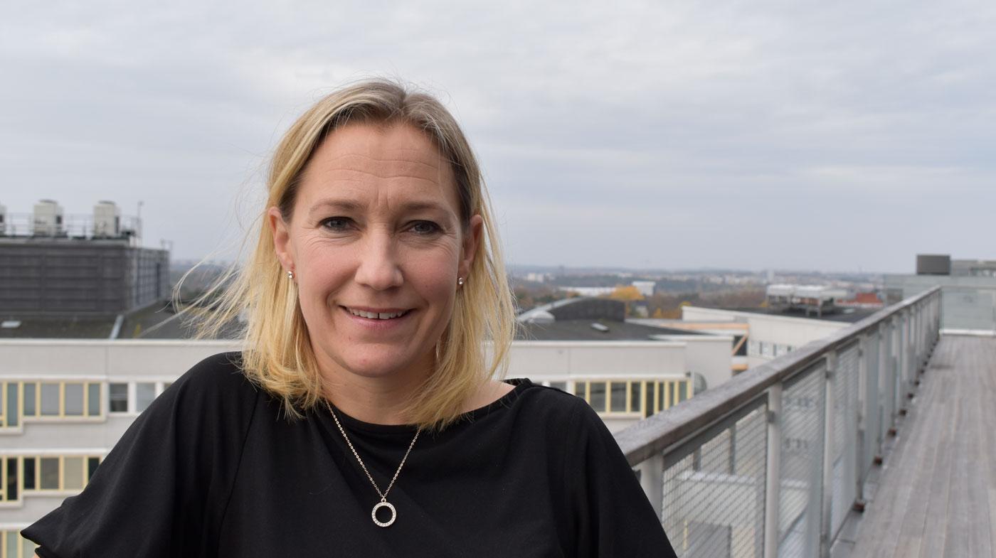 Carola Nilsson på Måleriföretagen i Sverige