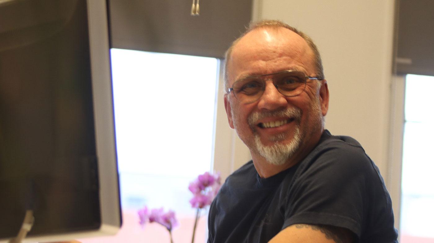 Johan Nylén, vd på Miljögolv i Stockholm AB