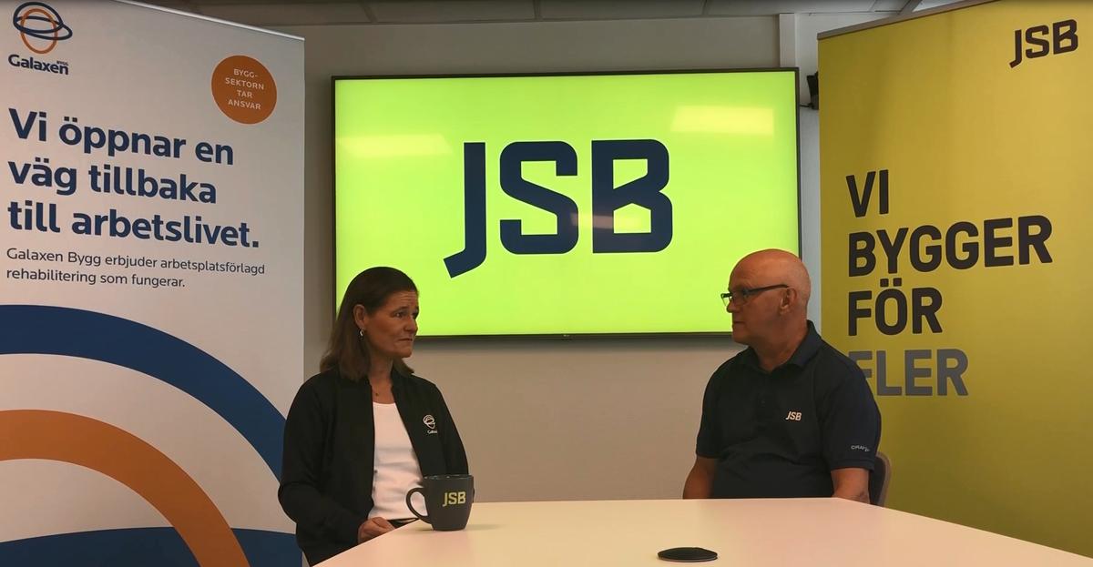 Galaxen och JSB om samarbetet kring föreläsningar om belastningsergonomi
