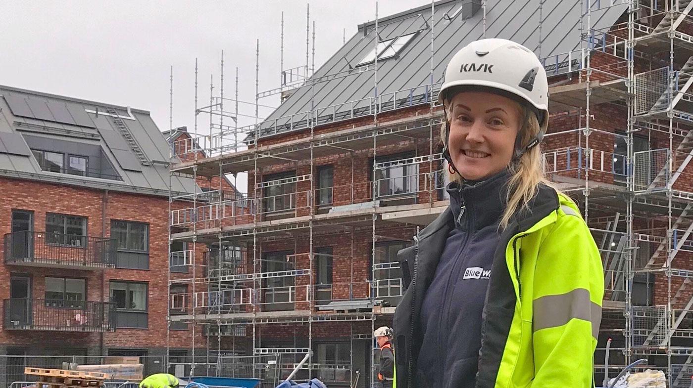 Ingela Rosendahl, HR-ansvarig på Blue Wall